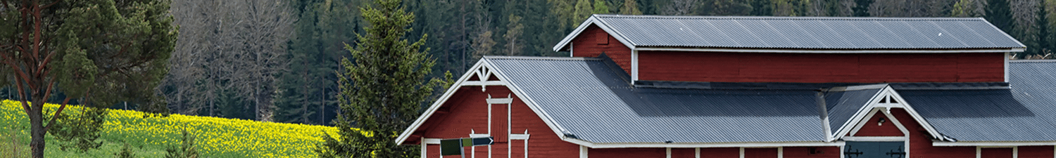 Great Agricultural Metal Roofing