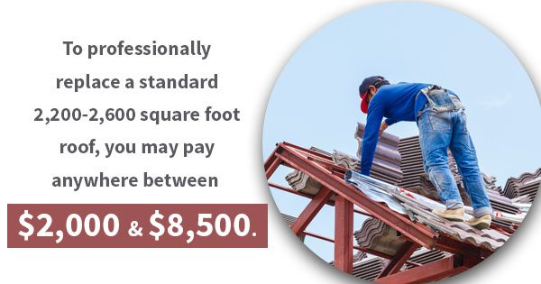If A Homeowner Needs Residential Roofing Repairs This Season, The Cost Can  Set Them Back: To Professionally Replace A Standard 2,200 2,600 Square Foot  Roof, ...